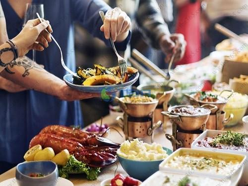 Tiệc ẩm thực cao cấp cho khách hàng