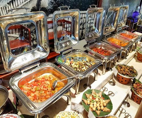 TIệc buffet tại nhà hàng- Dụng cụ cao cấp