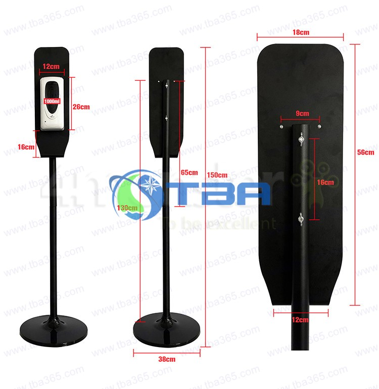 Bộ bình đựng nước rửa tay cảm ứng cao cấp ASA1000