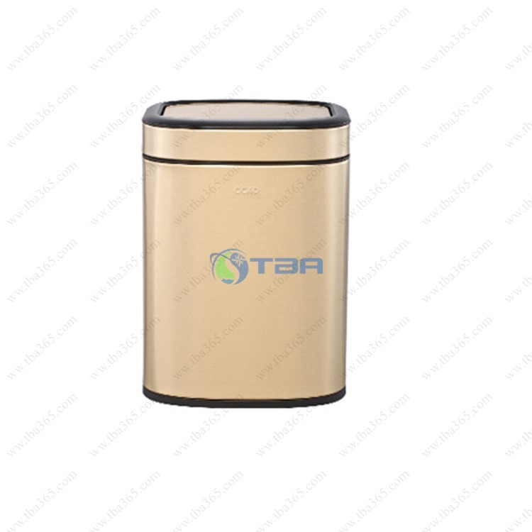 Thùng rác inox mạ vàng cao cấp CCKO 10 Lít
