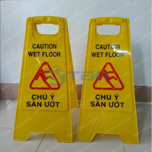 Bảng chú ý sàn ướt cho nhà hàng khách sạn