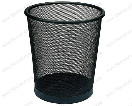Thùng rác lưới màu đen