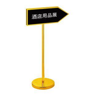 Bảng chỉ dẫn B29 Inox mạ vàng